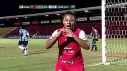 O gol de Audax-SP 1 x 0 Grêmio pelo Campeonato Brasileiro Feminino de Futebol