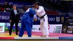 Brasil fica em primeiro lugar no quadro de medalhas do Grand Prix de judô na Geórgia