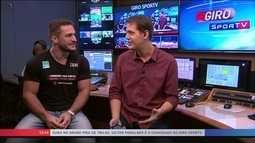 """Ouro no judô em Tbilisi, Victor Penalber participa do Giro SporTV """"em família"""""""