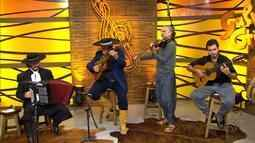 Gilberto Monteiro canta com Hique Gomez, Raul Quiroga, Jean Carlo Godoy e Diablo Júnior