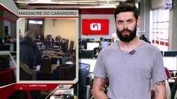 G1 em 1 Minuto: TJ de SP vai fazer novo júri dos PMs envolvidos no massacre do Carandiru