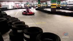 TV Bahêa - Sócios do esquadrão participaram de uma corrida de kart