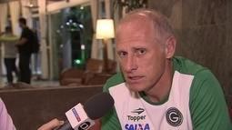 Técnico do Goiás diz que o plano é deixar o Fluminense ansioso