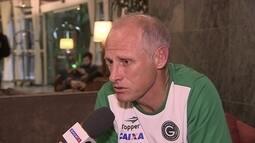 Treinador do Goiás mostra confiança na classificação no Maracanã