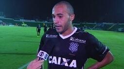 """Dudu lamenta empate com o Avaí: """"Dava para ter saído com o resultado positivo"""""""