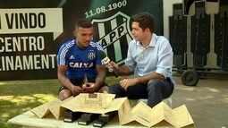 William Pottker revela qual desejo quer realizar na semifinal contra o Palmeiras