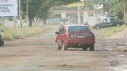 Buracos viram obstáculos ainda mais problemáticos com chuvas em Ribeirão Preto