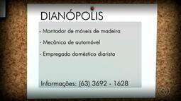 Veja as vagas de emprego disponíveis para Dianópolis e Araguatins