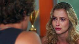 Teaser Malhação 25/04: Bárbara quer descobrir toda a verdade sobre a sua vida