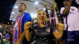 TV Bahêa - Veja como foi a vitória do Bahia sobre o Fluminense de Feira de Santana