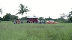 Produtores rurais ocupam parte das terras do Porto do Açu, em São João da Barra, no RJ