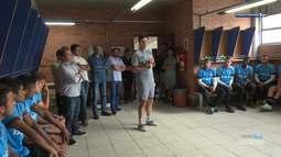 Azul, Preto e Branco - César Bueno é o novo técnico da equipe Sub-20