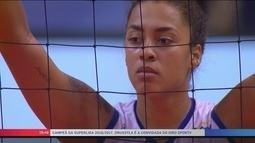 Eleita melhor jogadora da final, Drussyla diz que não se sente pressionada por Bernardinho