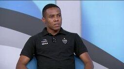 Elias fala sobre a decisão do Campeonato Mineiro contra o Cruzeiro