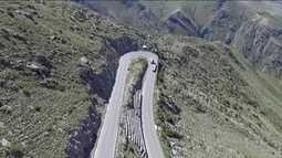 Rodovia Interoceânica tem trecho mais perigoso nos Andes