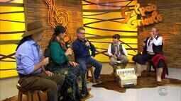 'Galpão' exibe o quadro 'Na Janela do Galpão' e filme de Os Monarcas (bloco 2)