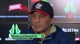"""Zé Ricardo valoriza """"peso"""" da final do Campeonato Carioca"""