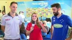Levantadores do Cruzeiro e do Taubaté falam sobre a final da Superliga Masculina