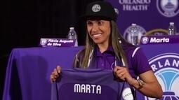 Marta comenta ida para o futebol nos Estados Unidos