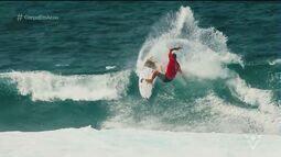 Surfistas da região disputam Rio Pro em Saquarema