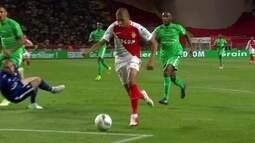 Os gols de Monaco 2 x 0 Saint-Étienne pelo Campeonato Francês