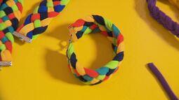 Aprenda a fazer o 'entrelacê' e ajude associação que atende crianças com autismo