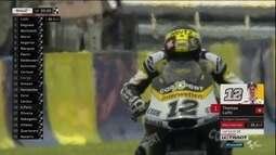 Thomas Luthi faz a pole position no GP da França da Moto 2