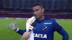 Edson, goleiro do ABC faz boa partida e fala da atuação do time