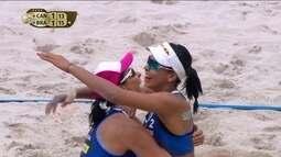 Ágatha e Duda vencem a etapa do Rio de Janeiro do Circuito Mundial de vôlei de praia