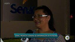 Senac promove Semana de Enfermagem em Petrolina