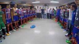 TV Bahêa - Bastidores de Bahia x Atlético-PR