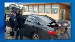 Traficante se passa por PF é preso com 350 kg de maconha em MS