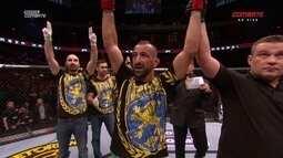 Conheça Reza Madadi e Netto BJJ, adversários no UFC Suécia