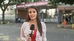 G1 no Bom Dia Rio: vistoria constata irregularidades no Hospital Geral de Bonsucesso