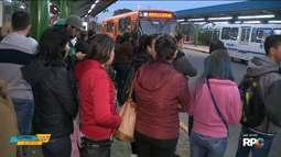 Linha de ônibus que liga Araucária a Curitiba começa hoje a operar em horário diferente