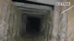 Túnel era usado para roubo de óleo