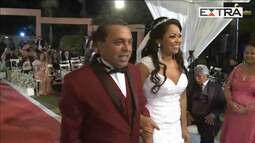 Ex-BBB Elis se casa e transmite cerimônia na web