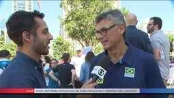 Renan e Zé Roberto falam da preparação para Liga Mundial e Torneio de Montreaux
