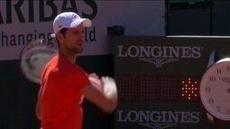 Atual campeão, Djokovic chega a Roland Garros de técnico novo: Andre Agassi