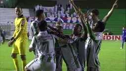Os gols de Juventude 2 x 1 Paraná pela 3ª rodada da série B do Brasileiro