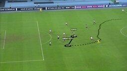 SporTV mostra como foi o gol do Botafogo contra o Bahia