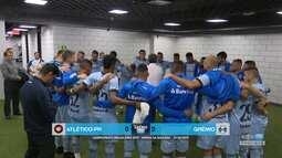 Azul, Preto e Branco - Bastidores de Atlético-PR x Grêmio