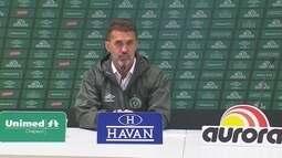 Confira entrevista coletiva com Vagner Mancini