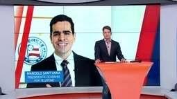 Presidente do Bahia se desculpa por ausência de Guto Ferreira no programa