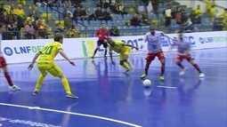 Os gols de Assoeva 2 x 2 Atlético Erechim pela liga Nacional de Futsal