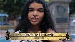 Meu Cordel Favorito com a estudante Beatriz Leilane