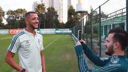 TV Palmeiras - O último dia de Vitor Hugo no Palmeiras