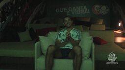 TV Palmeiras - Antes de Partir, Vitor Hugo pega uma sessão de cinema com a TV Palmeiras