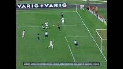 Lei do Ex: Kleber Gladiador já marcou gol diante do Grêmio, seu ex-clube