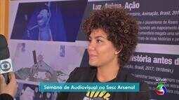 Programação da semana audiovisual vai até sábado no Sesc Arsenal